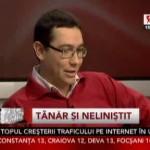 Victor Ponta: <<[...]nu are nimic politic, nimic de facut o stire!>>